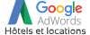 Google AdWords - Hôtels et locations FRA France